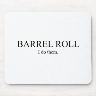 Barrel Roll 3 Mouse Pad