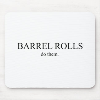 Barrel Roll 5 Mouse Pad