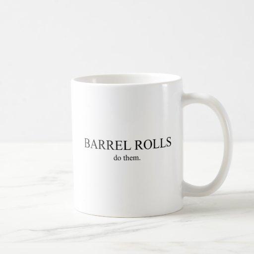 Barrel Roll 5 Coffee Mugs