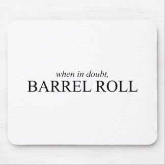 Barrel Roll 7 Mouse Pad