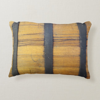 Barrel - rustic country winebarrel decorative pillow