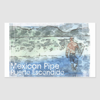 Barrel X Limited Mexican Pipe Sticker