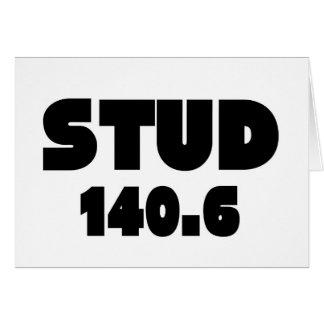 Barrel X Triathlon Stud 140.6 Ironman Card