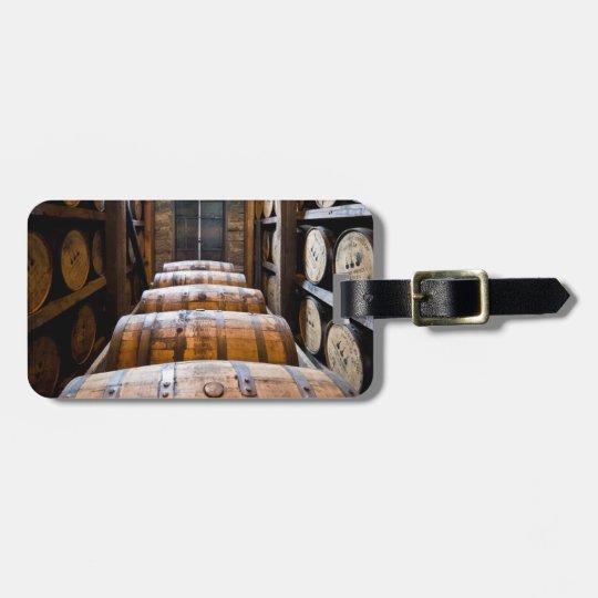 barrels luggage tag