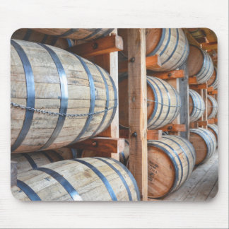 Barrels Of Bourbon Mouse Pad