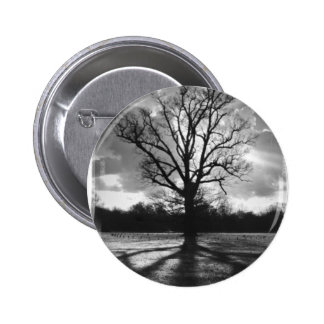 Barren Branches Tree Pinback Button