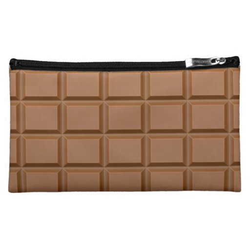Barres chocolat trousse à maquillage
