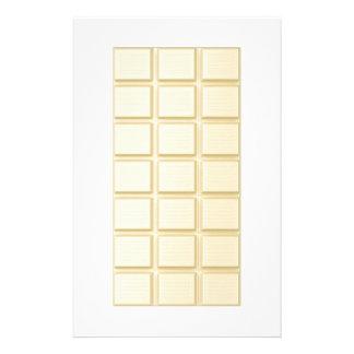 Barres de chocolat papier à lettre