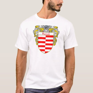 Barrett Coat of Arms (Mantled) T-Shirt