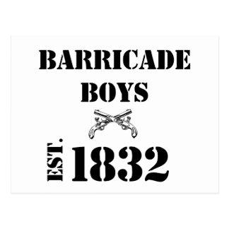 Barricade Boys Odds and Ends Postcard