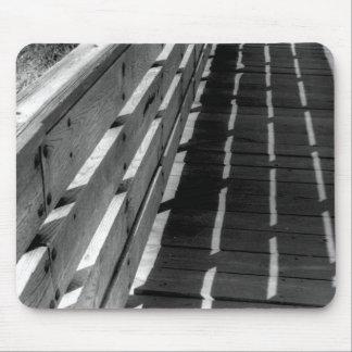 Barrière en bois tapis de souris