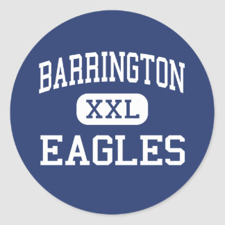 Barrington Eagles Middle Barrington Classic Round Sticker