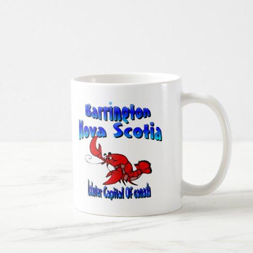 Barrington Nova Scotia Canada Lobster Mugs