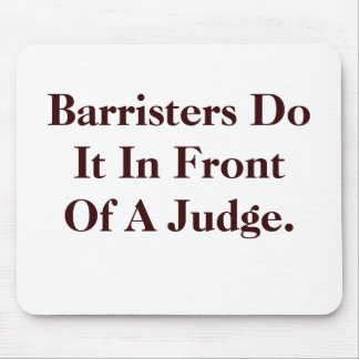 Barristers Do IT - Cheeky Legal Innuendo Mouse Pad