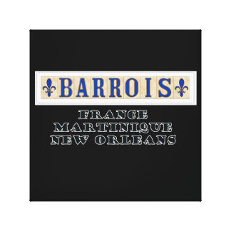 BARROIS Ancestry Canvas Artwork