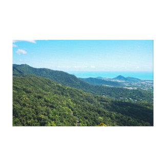 Barron Gorge Canopy and Coral Sea Canvas Print