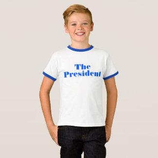 "Barron Trump parody ""The President"" shirt"