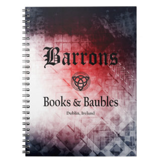 Barrons Books and Baubles Journal