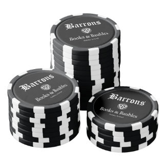 Barrons Books and Baubles Poker Chips