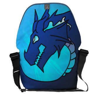 Barroth the Dragon Magician Messenger Bag LARGE
