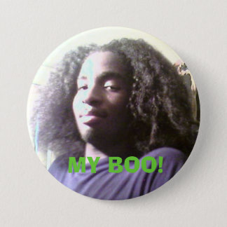 barry1, MY BOO! 3 Inch Round Button