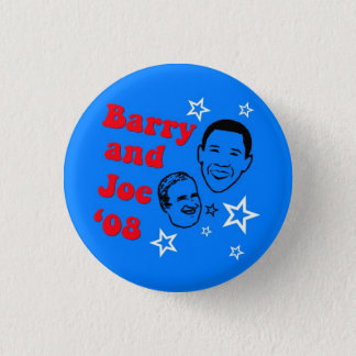 Barry and Joe '08 1 Inch Round Button