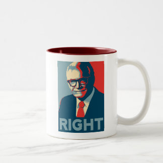 Barry Goldwater Right Two-Tone Coffee Mug