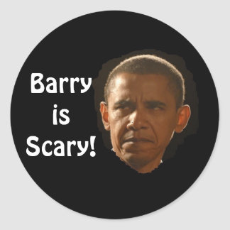Barry is Scary! stickers