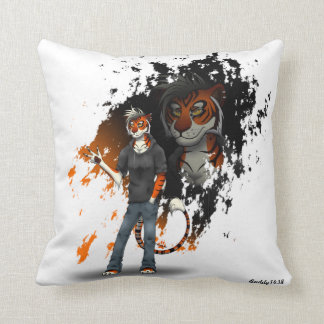 Barry & Kyro ~Throw  Pillow