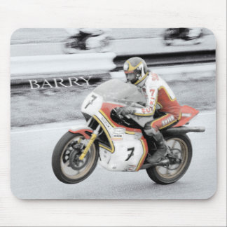 Barry Sheene Mouse Pad