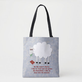 Barry the Sheep Tote Bag