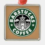 Barstucks Coffee Christmas Tree Ornament