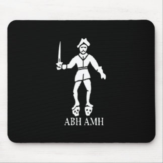 Bart Roberts #1-White Mouse Pad