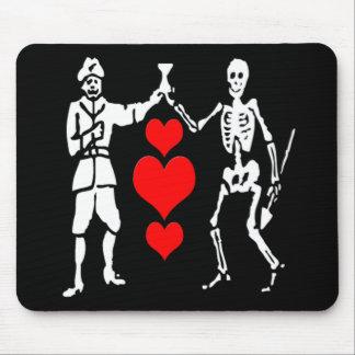 Bart Roberts #2-Hearts Mouse Pad