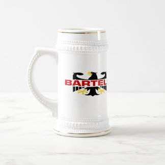 Bartels Surname Beer Stein