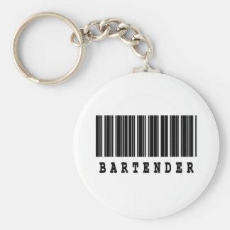 bartender barcode design basic round button keychain