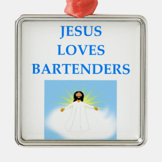 BARTENDER METAL ORNAMENT