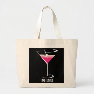 Bartender tote bag Pink Martini