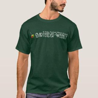 Bartender Weekly Logo T-Shirt