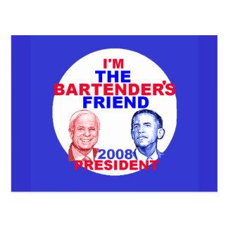 BARTENDERS Postcard