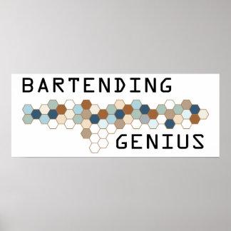 Bartending Genius Poster