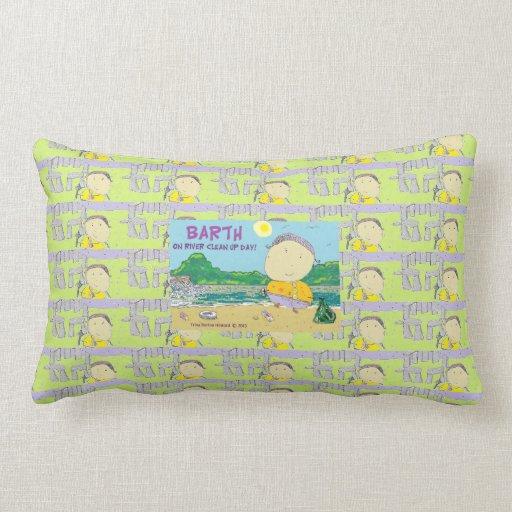 BARTH Galore! trinaburtonhoward.com Throw Pillow