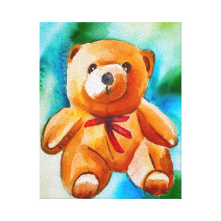 Bartholomew Bear Canvas Print