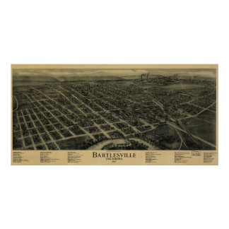 Bartlesville, Oklahoma Poster