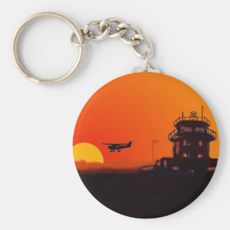 Barton Airport key ring