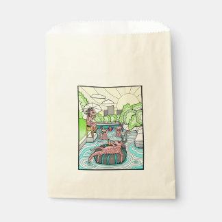 Barton Creek Salamanders Color Favour Bag
