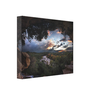 Barton Creek Sunset - Austin, Texas Canvas Print