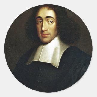 Baruch Spinoza Classic Round Sticker