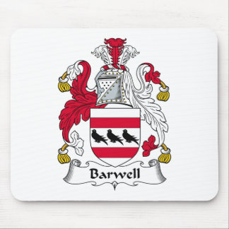 Barwell Family Crest Mouse Pad