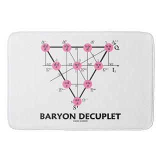 Baryon Decuplet (Particle Physics) Bath Mat